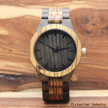 Wooden Watch with Japanese Movement