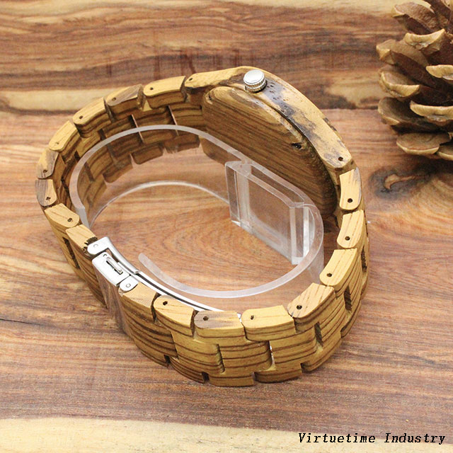 Fashion wooden Watches with Japanese Movements