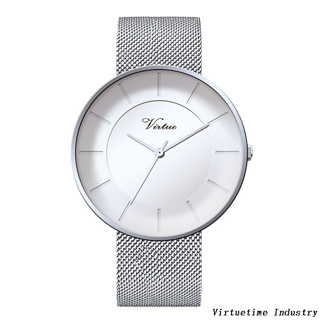 Watches for girls alloy watch customized with stainless steel mesh Strap