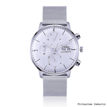 Analogue Automatic Watch with Stainless Steel Strap